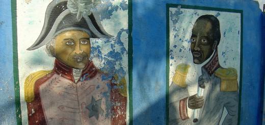 Murals inside Cité Soleil, Haiti (Foto: Johnnybesogood unter CC BY-SA 2.0)