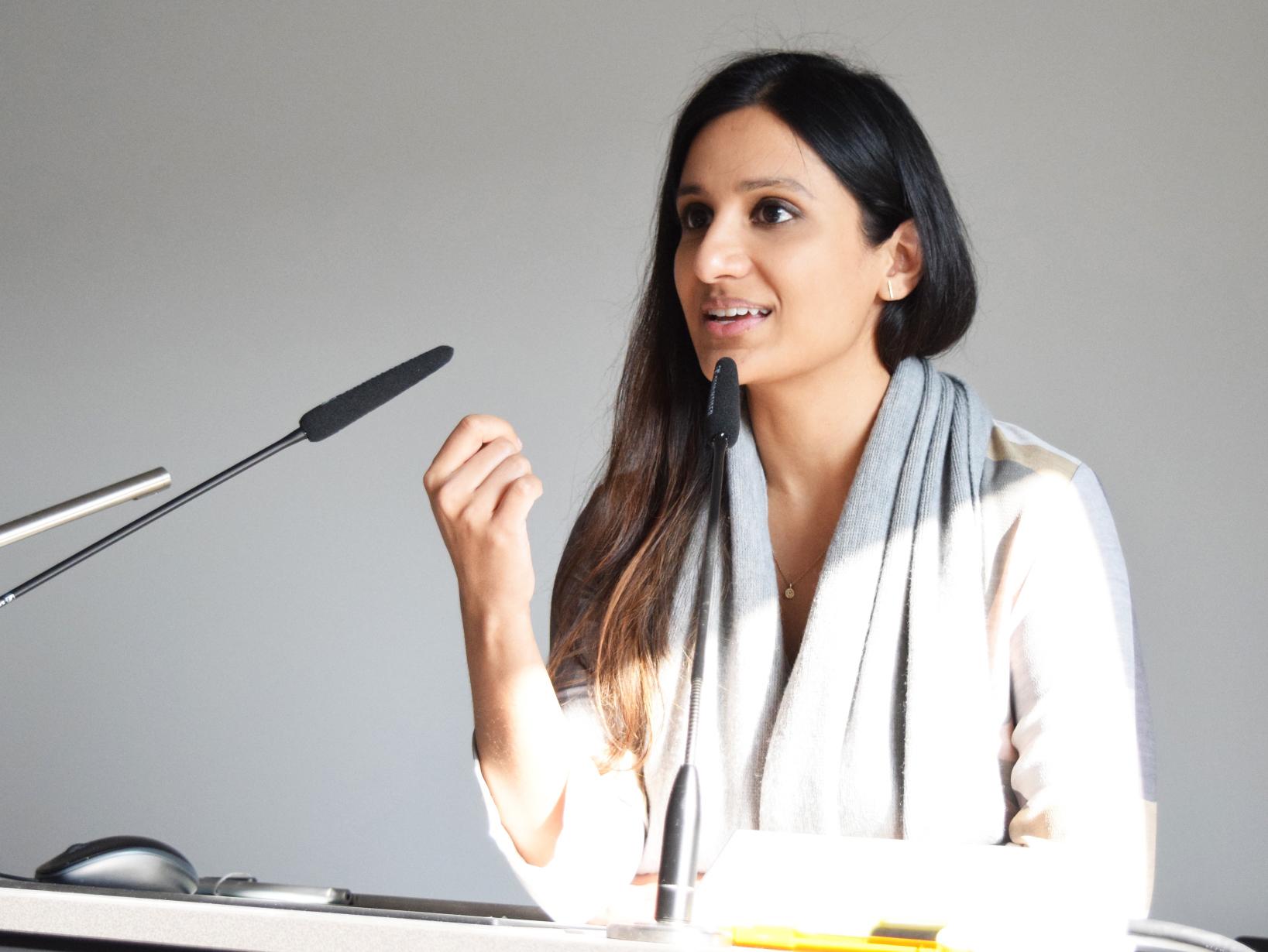 Saima Akhtar (Photo: Lucy Charman under CC BY-NC-SA 4.0)