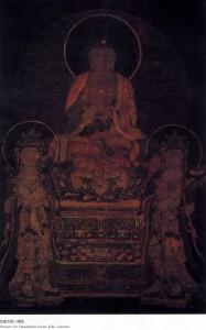 Late Koryŏ dynasty, color on silk, hanging scroll, 123.0 x 82.0 cm, Museum für Ostasiatische Kunst, Köln, Germany, Inv. no. A 09, 59. Museum für Ostasiatische Kunst Köln, NRICH