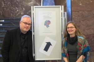 Sabine von Löwis (Centre Marc Bloch) und Nenad Stefanov (Humboldt-Universität zu Berlin)