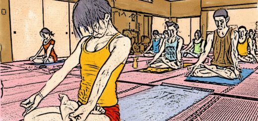 Yoga manga (photo: Barry Silver under CC BY 2.0)