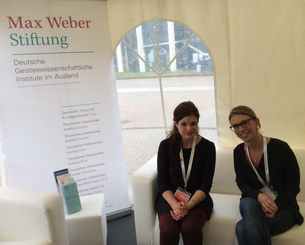 Julia Hauser (left), Gesche Schifferdecker (right)