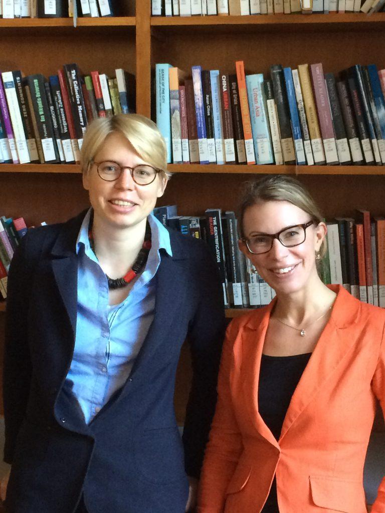 Katrin Stoll and Gesche Schifferdecker