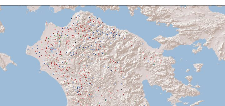 Ethnic Distribution of Identified Localities of the Peloponnese in the 1460s